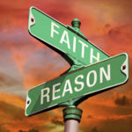 Faith Reason road sign