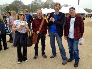 Gail, Scott, Mark, and Dave