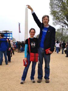 Heather, Mark, and the Washington Monument