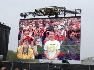 Rally audience
