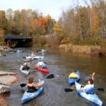Paddling the Manistee River